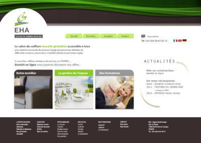 EHA : création du site internet