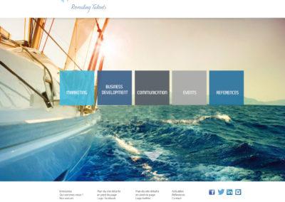VP Business : création du site internet