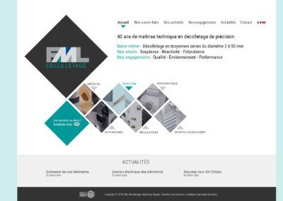 FML : création du site internet