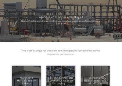 ICM74 : création du site internet